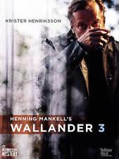 Wallander: 3 (DVD, 2014,4-Disc Set) Swedish English Subtitbles NEW 3rd third 47A