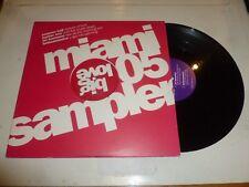 """MIAMI 05 SAMPLER - 2005 UK 4-track 12"""" Double Vinyl Single"""