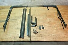 Jeep Wrangler YJ CJ7 76-95 Bestop Soft Top Hardware Brackets Bow Rail Assembly