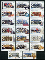 Liberia 2017 MNH Hong Kong Returns to China 20th Anniv 20v Set History Stamps