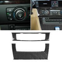 1pc Car Air Conditioning CD Panel Cover Trim for BMW 3 Series E90 E92 E93 #2