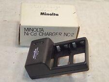 Minolta Ni-Cd Battery Charger NC-2 NC2 Genuine OEM