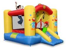 ORIGINAL HAPPY HOP Clown bouncer with Slide and Basketball Hoop 9201