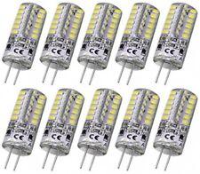 Led Light Lamp 3 Watt Dc 12V White Bulb Equivalent To 20W T3 G4 Base 10Pcs