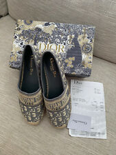 christian dior shoes Size 40 Better Suited To 39 Espadrilles