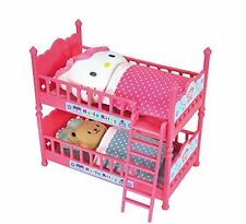 Hello Kitty Double Bunk Bed with Cushions, Futons and Characters