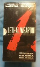 FACTORY SEALED! Lethal Weapon 3-Pack (VHS, 1998)  Complete Set