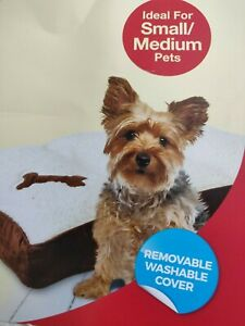 Memory Foam Dog Bed small washable removable cover