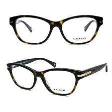 COACH HC6050 (Lakota) 5227(Tortoise/Beige Ocelot Sig C) 53/16/135 Eyeglasses New