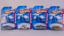 Lot of 4, Mattel Hot Wheels 1:64 scale TEAM: Engine Revealers MIB