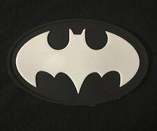 BATMAN LOGO 3D RUBBER GLOW PVC USA ARMY VELCRO® BRAND MORALE PATCH