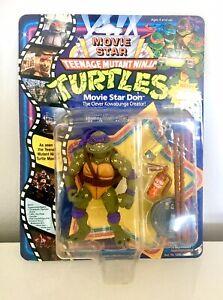Teenage Mutant Ninja Turtles Movie Star Don MOC MISB BNIB Vintage TMNT