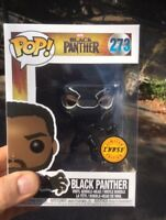 Black Panther CHASE Funko Pop Vinyl New in Mint Box + P/P