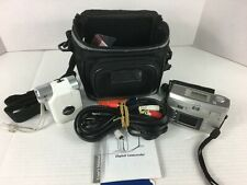 2 Cameras Hp Photosmart 733 & Aiptek Camcorder for Parts or Repair No Sd Cards