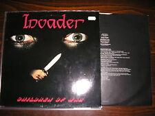 INVADER - Children of war    LP   1986   BONEBREAKER 006      1.press