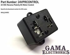 24 VDC Reverse Polarity DC Motor Control - 24VPRCONTROL