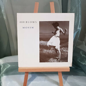 400 BLOWS - MOVIN' / GROOVE JUMPING - UK 1985 - ILLUMINATED ILL61 Picture Sleeve