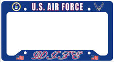 US Air Force Wife License Plate Frame