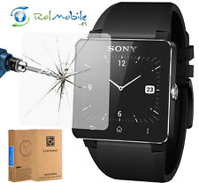 Ultra Clear Tempered Glass Screen Protector Pantalla for Sony Smart Watch SW2