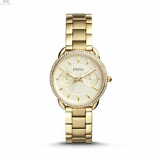 NWT Fossil ES4263 Women's Tailor Champagne Dial Gold-tone Stainless Steel Watch