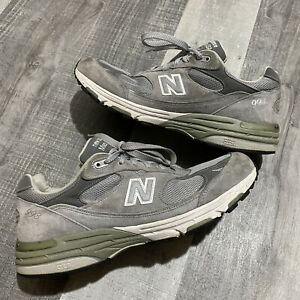 Vintage New Balance 993 Mens MR993GL Made In USA Sneakers Shoes Gray 12