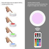 Touch Sensor LED Lights 13 Colors Under Cabinet Light For Wardrobe Stair Hallway