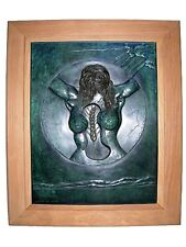 Salvador DALI s/n Bronze Bas-relief  Fecundity 1977 - AUTHENTIC + CERTIFICATE