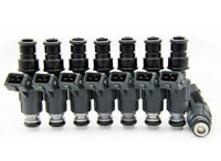 Performance 30lb Upgrade 12-Hole Flow Matched Denso Fuel Injector Set x8