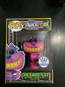 Funko Pop! Disney Alice In Wonderland Cheshire Cat Black Light Funko Shop Excl.