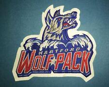 Rare Hartford Wolfpack AHL Hockey CCM Jersey Shoulder Patch Crest