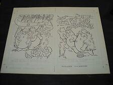 Snugglebumm Coloring Book Original Artwork RARE! Stan Goldberg! ART#0573