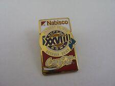 Super Bowl XXVIII 28 Nabisco Pin 1994 Georgia Dome