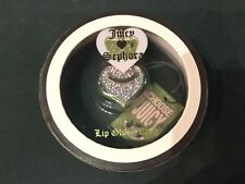 Juicy Couture Lip Gloss Ring BNIB Sephora special edition pink crystal love 💗