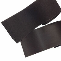 "NEW! BLACK Sew On Hook & Loop Set Fastener Tape ~ 4"" x 2 feet ft Sewing Crafts"
