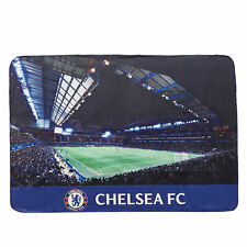 Chelsea Stadium Print Fleece Blanket Football Fanatics