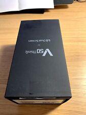"""LG V50 ThinQ 5G 6.4"""" 128GB/6GB LMV500EM Black Single SIM UNLOCKED DUAL SCREEN"""