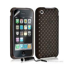 Housse étui coque souple tressée transparent pour Apple Iphone 3G/3GS couleur no