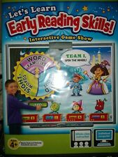 Lakeshore Pre K - K Ages 4+ Early Reading Skills Dvd Game Show