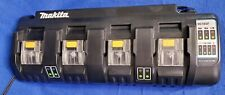 Makita Dc18Sf 4-Port Battery Charger, 18-Volt Xlt Lithium Ion Rapid Optimum