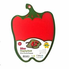 Hobby Life Novelty Shaped Non Slip Reversible Chopping Board BPA Pepper