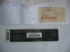 NOS Oldsmobile GM OEM 1999 Intrigue Label-Emission Label 12561275