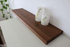 Wandboard Nussbaum Massiv Holz Board Regal Steckboard Regalbrett NEU au. auf Maß