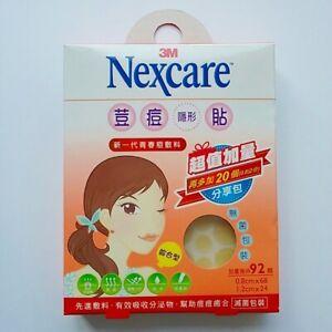 3M Nexcare Acne Dressing Pimple Stickers Patch Combo - 92pcs