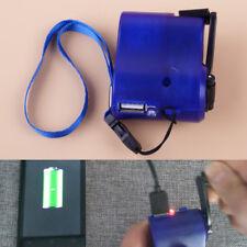 Generador Cargador USB de Mano Manivela Dynamo Manual teléfono móvil Cargador De Emergencia