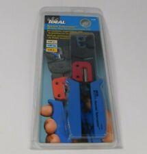 Ideal 30 696 Ratchet Crimper Cat 3 5e 6 Telemaster Modular Plug Termination