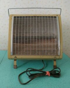 Vintage General Electric Space Heater Fan Forced Radiant Heater Working