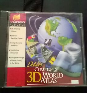 compton's delux 3d world atlas for your pc