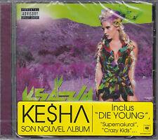 CD KESHA WARRIOR 12T DE 2012 FRENCH STICK NEUF SCELLE