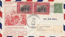 US FDC Sc # 651(2)-Sc# 552 Fort Sackville Surrender w/ Roessler cachet - US 8143
