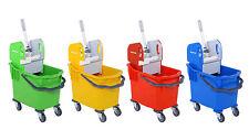 More details for 25l commercial kentucky mop bucket with wringer for shop, restaurant & etc.